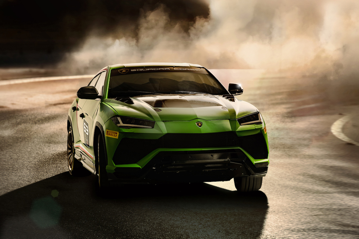 Lamborghini Urus ST-X Rallycross
