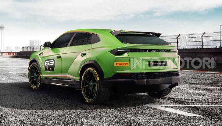Lamborghini Urus ST-X Concept: il SUV da pista senza limiti - Foto 3 di 7
