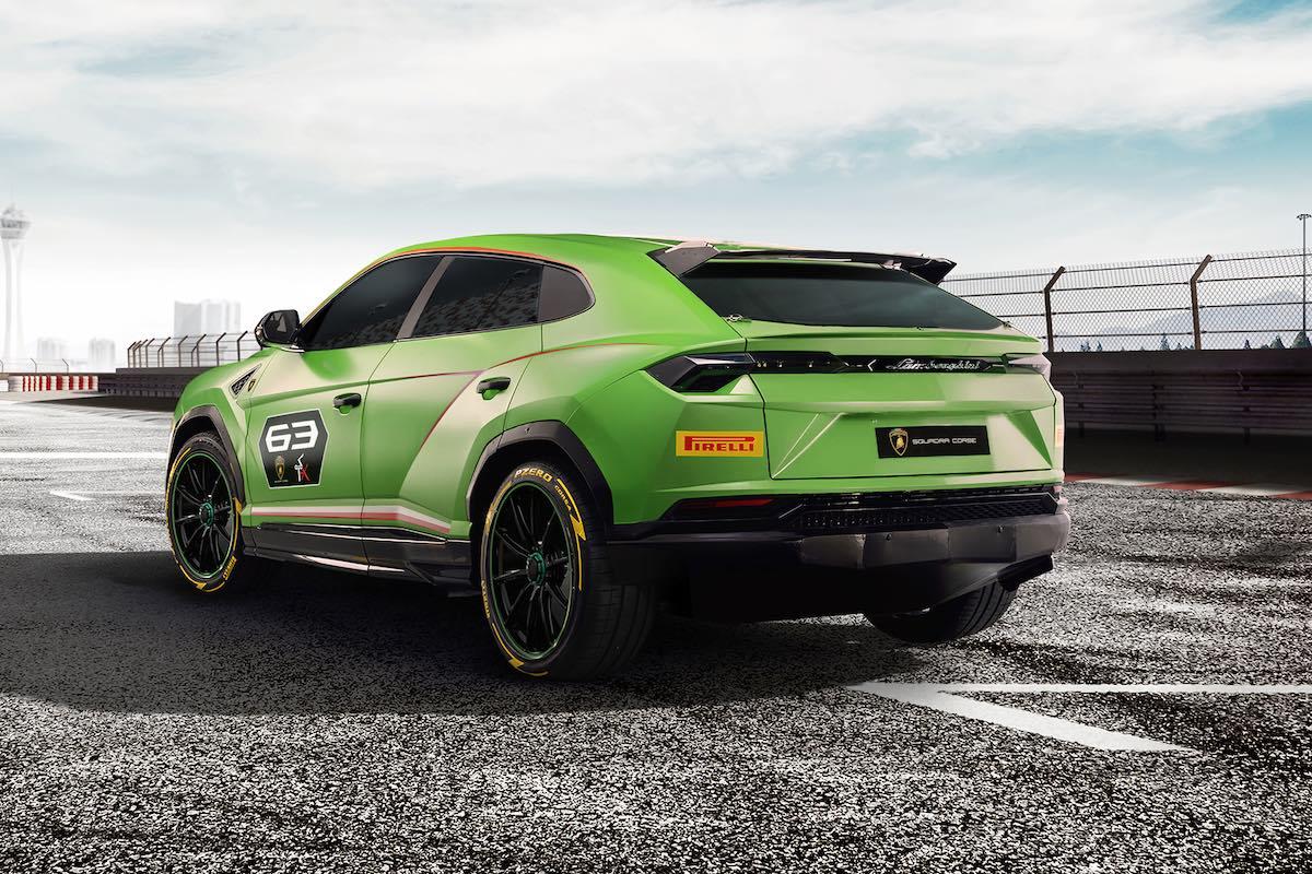 Lamborghini Urus ST-X posteriore