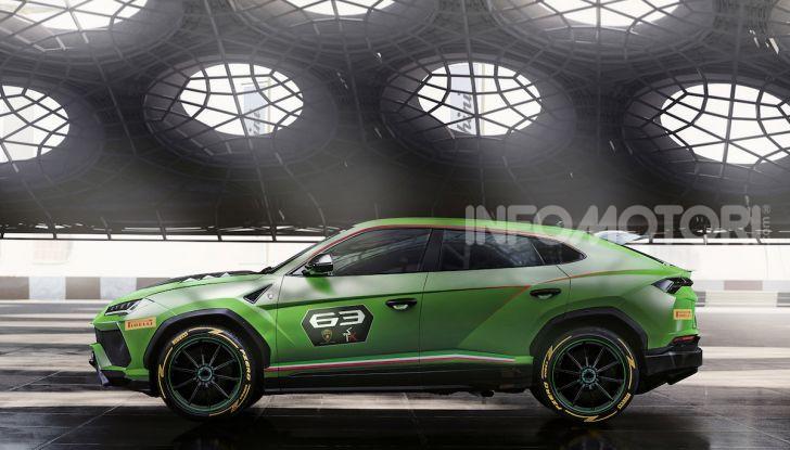 Lamborghini Urus ST-X Concept: il SUV da pista senza limiti - Foto 4 di 7
