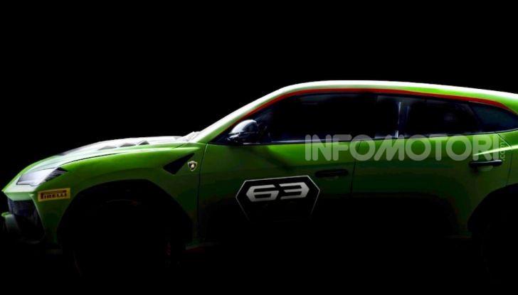Lamborghini Urus ST-X Concept: il SUV da pista senza limiti - Foto 6 di 7