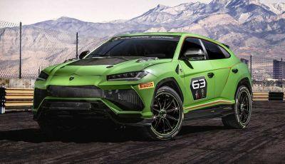 Lamborghini Urus ST-X Concept: il SUV da pista senza limiti