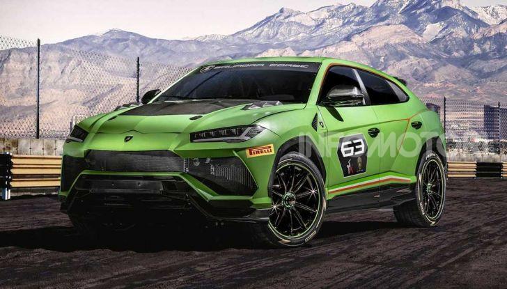 Lamborghini Urus ST-X Concept: il SUV da pista senza limiti - Foto 1 di 7