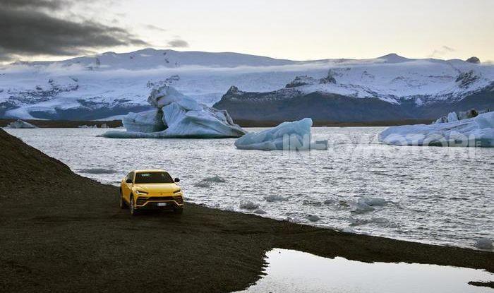 Lamborghini Urus provata su strada e fuoristrada in Islanda - Foto 2 di 10