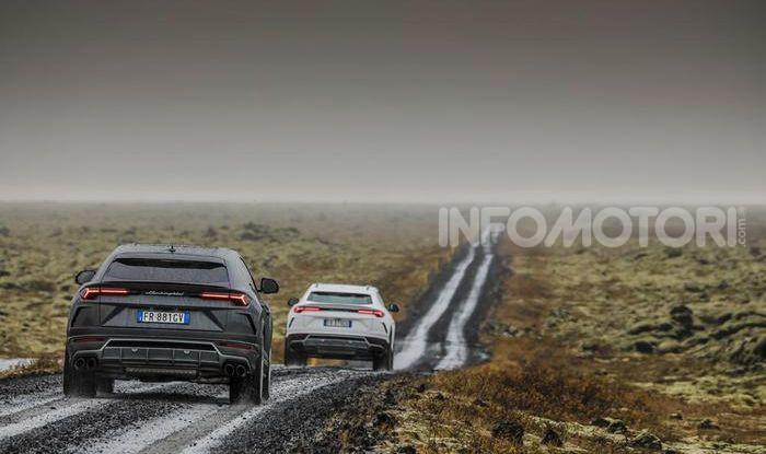 Lamborghini Urus provata su strada e fuoristrada in Islanda - Foto 5 di 10