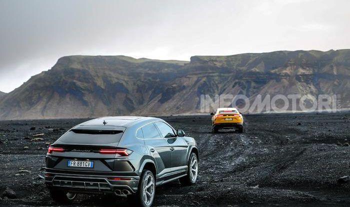 Lamborghini Urus provata su strada e fuoristrada in Islanda - Foto 6 di 10