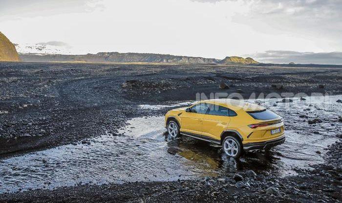 Lamborghini Urus provata su strada e fuoristrada in Islanda - Foto 8 di 10