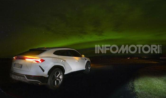 Lamborghini Urus provata su strada e fuoristrada in Islanda - Foto 9 di 10
