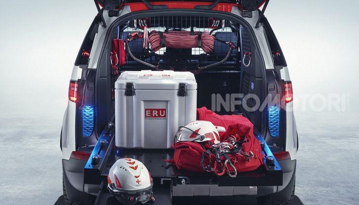 Land Rover e Croce Rossa per aiutare in caso di catastrofe naturale - Foto 5 di 7