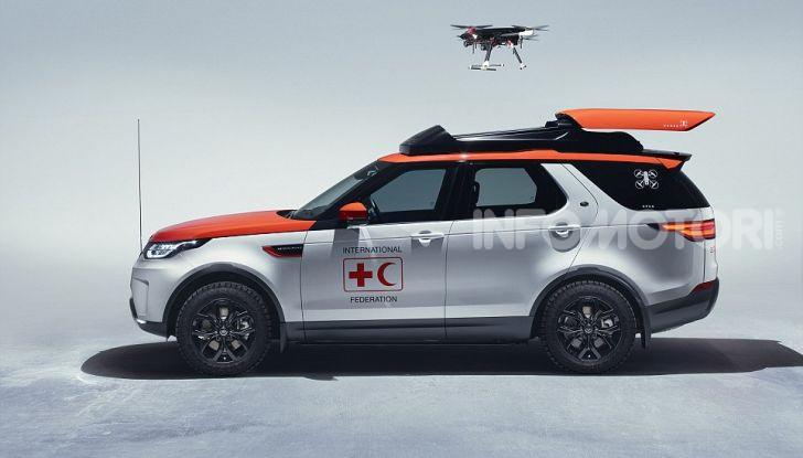 Land Rover e Croce Rossa per aiutare in caso di catastrofe naturale - Foto 2 di 7