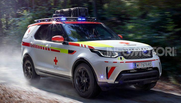Land Rover e Croce Rossa per aiutare in caso di catastrofe naturale - Foto 7 di 7