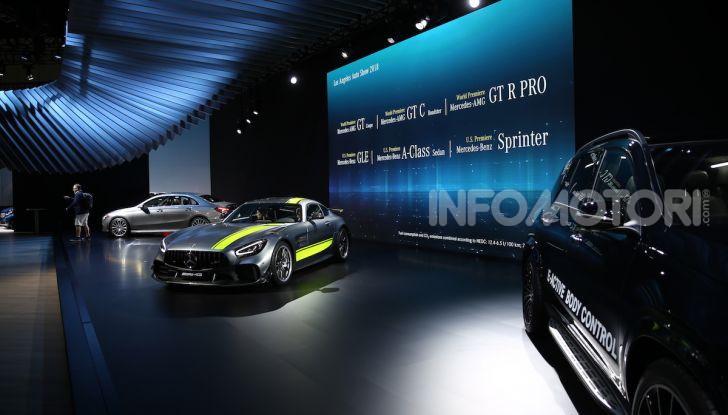 Mercedes-Benz, tutte le anteprime del Salone di Los Angeles 2018 - Foto 24 di 34