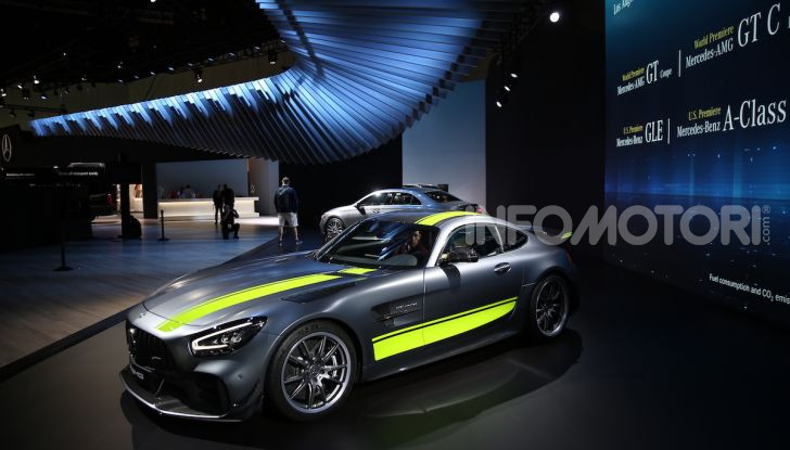 Mercedes-AMG GT R Pro: un'estrema supercar Made in Germany - Foto 3 di 12