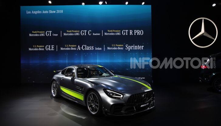 Mercedes-AMG GT R Pro: un'estrema supercar Made in Germany - Foto 4 di 12