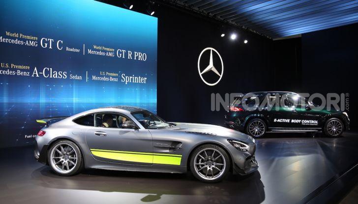 Mercedes-Benz, tutte le anteprime del Salone di Los Angeles 2018 - Foto 28 di 34
