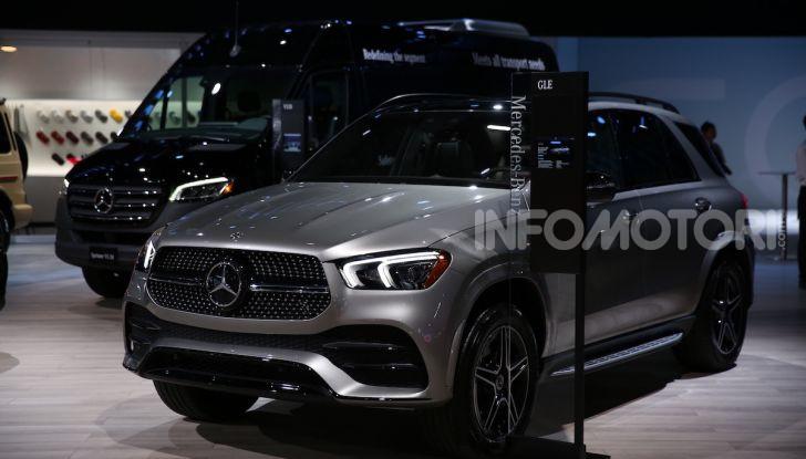 Mercedes-Benz, tutte le anteprime del Salone di Los Angeles 2018 - Foto 1 di 34