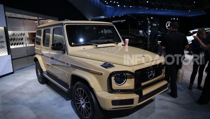Mercedes-Benz, tutte le anteprime del Salone di Los Angeles 2018 - Foto 7 di 34