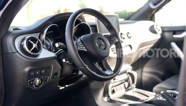 Mercedes-Benz X 350d 4Matic, prova del 6 cilindri da 3,0 litri - Foto 29 di 49