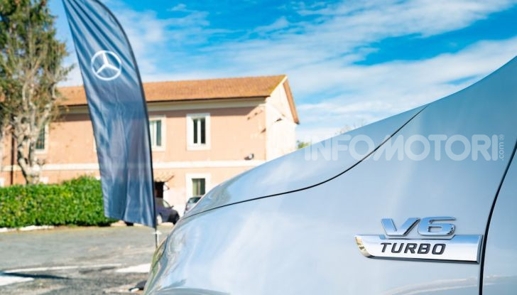 Mercedes-Benz X 350d 4Matic, prova del 6 cilindri da 3,0 litri - Foto 30 di 49