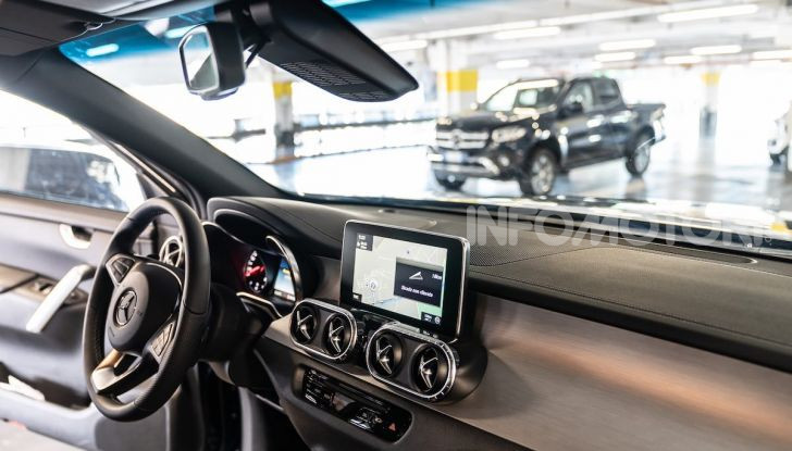 Mercedes-Benz X 350d 4Matic, prova del 6 cilindri da 3,0 litri - Foto 19 di 49