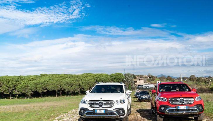 Mercedes-Benz X 350d 4Matic, prova del 6 cilindri da 3,0 litri - Foto 33 di 49