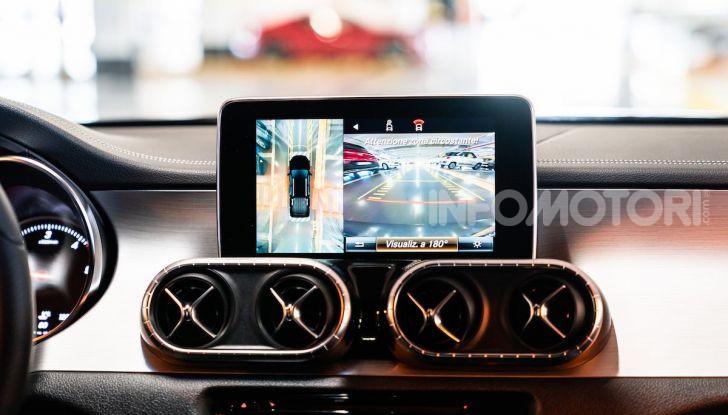Mercedes-Benz X 350d 4Matic, prova del 6 cilindri da 3,0 litri - Foto 20 di 49