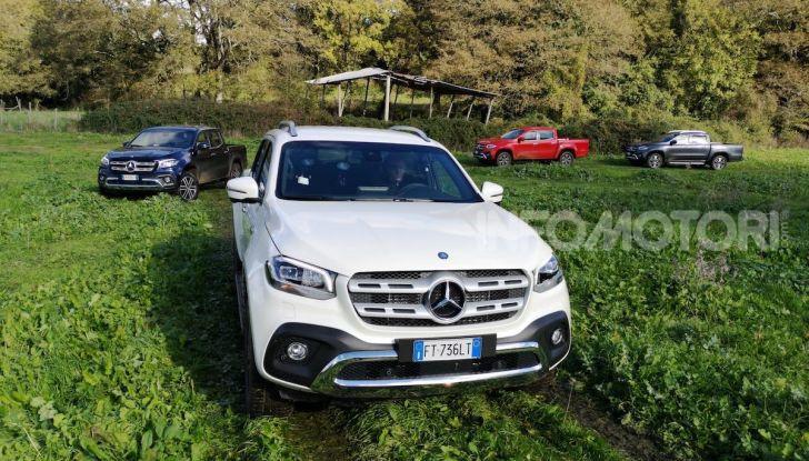 Mercedes-Benz X 350d 4Matic, prova del 6 cilindri da 3,0 litri - Foto 4 di 49