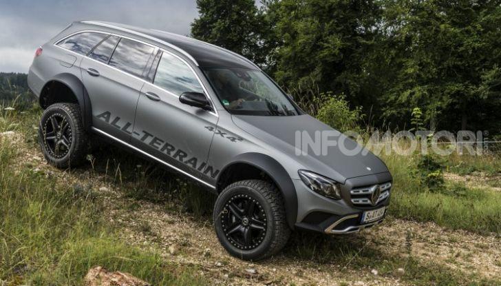 Mercedes-Benz Classe E 4MATIC All-Terrain 4×4², l'esemplare unico che esalta l'off-road - Foto 5 di 7
