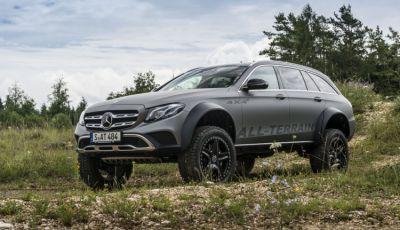 Mercedes-Benz Classe E 4MATIC All-Terrain 4×4², l'esemplare unico che esalta l'off-road