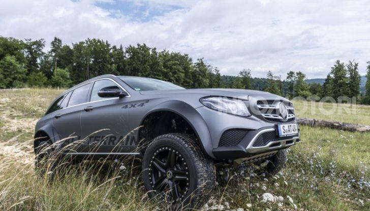 Mercedes-Benz Classe E 4MATIC All-Terrain 4×4², l'esemplare unico che esalta l'off-road - Foto 7 di 7
