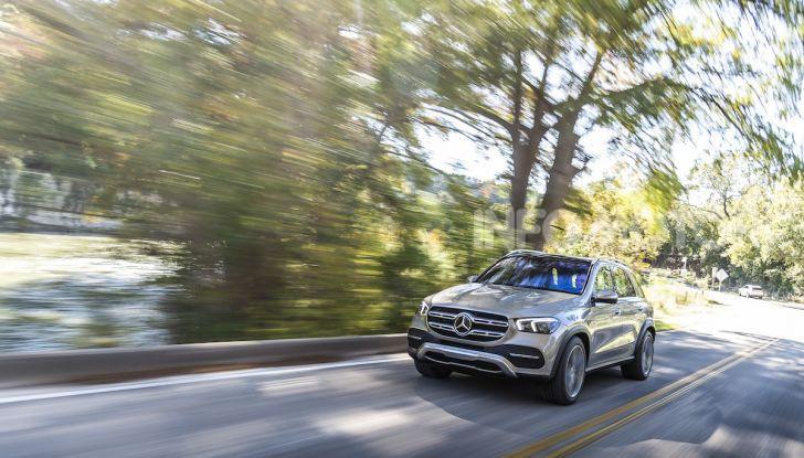Nuova Mercedes GLE: Il SUV che balla come una showcar - Foto 5 di 42
