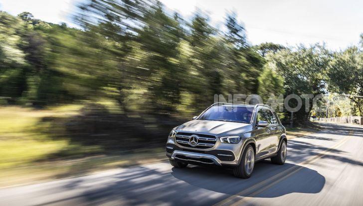 Nuova Mercedes GLE: Il SUV che balla come una showcar - Foto 6 di 42