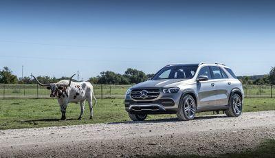 Nuova Mercedes GLE: Il SUV che balla come una showcar