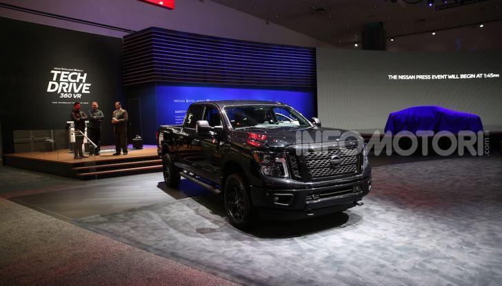 Nissan, le foto dello stand al Salone di Los Angeles 2018 - Foto 11 di 12