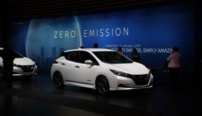 Nissan, le foto dello stand al Salone di Los Angeles 2018