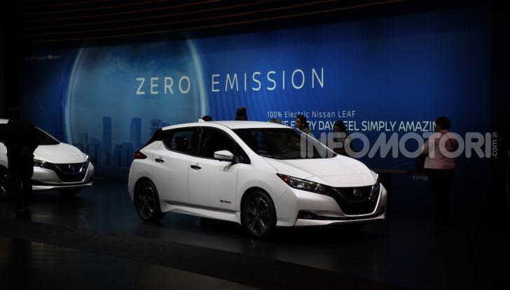 Nissan, le foto dello stand al Salone di Los Angeles 2018 - Foto 1 di 12