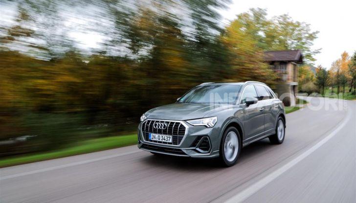 Nuova Audi Q3 prova su strada, prezzi e motori - Foto 10 di 12