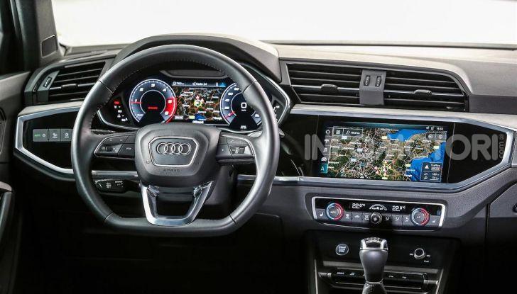 Nuova Audi Q3 prova su strada, prezzi e motori - Foto 12 di 12