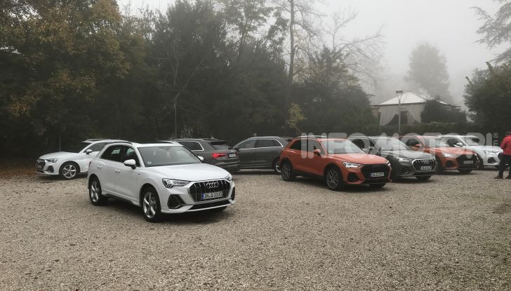 Nuova Audi Q3 prova su strada, prezzi e motori - Foto 1 di 12