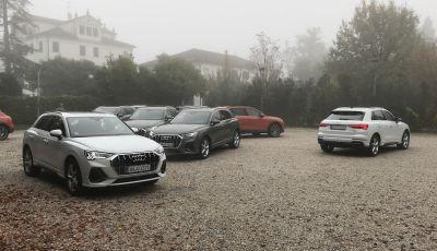 Nuova Audi Q3 prova su strada, prezzi e motori