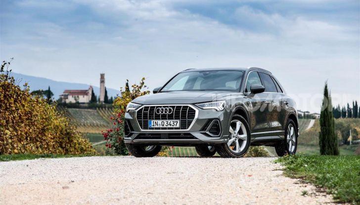 Nuova Audi Q3 prova su strada, prezzi e motori - Foto 8 di 12