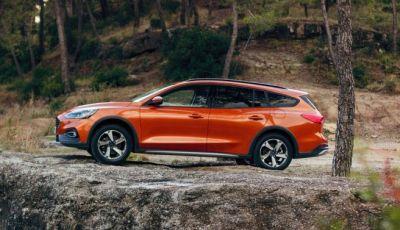 Nuova Ford Focus Active, look ispirato ai SUV