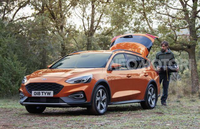Nuova Ford Focus Active, look ispirato ai SUV - Foto 2 di 5