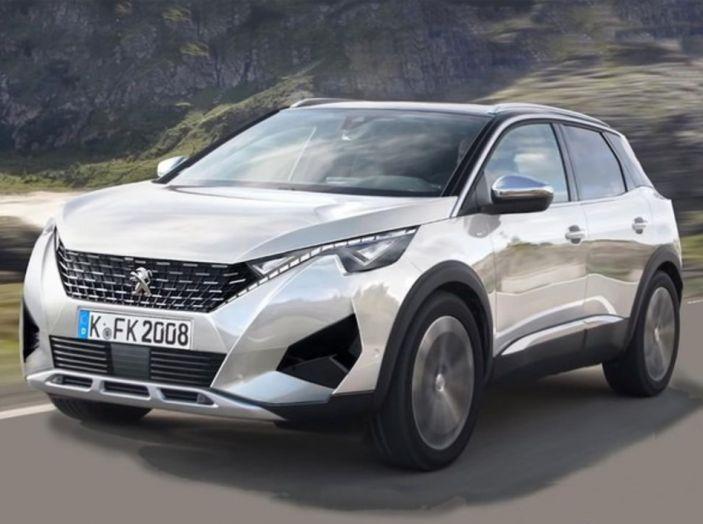 Nuova Peugeot 2008: è tutta rinnovata, dallo stile ai motori