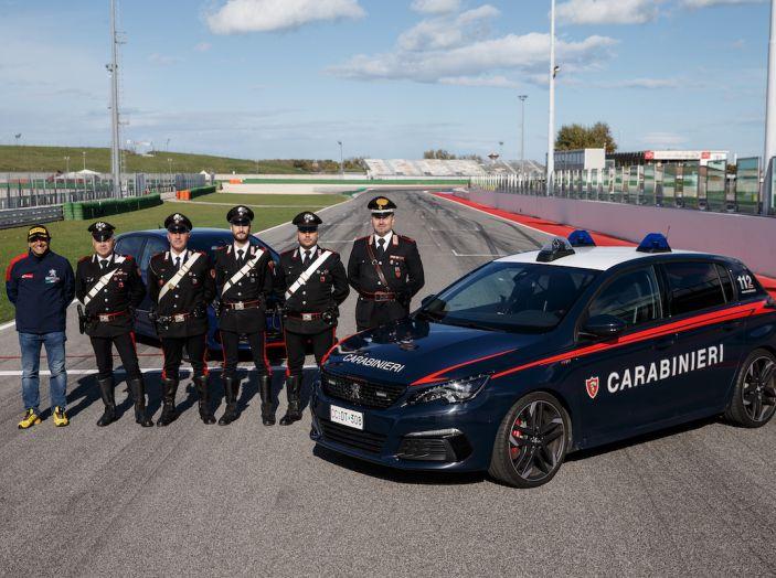 Peugeot e Carabinieri, prosegue la collaborazione