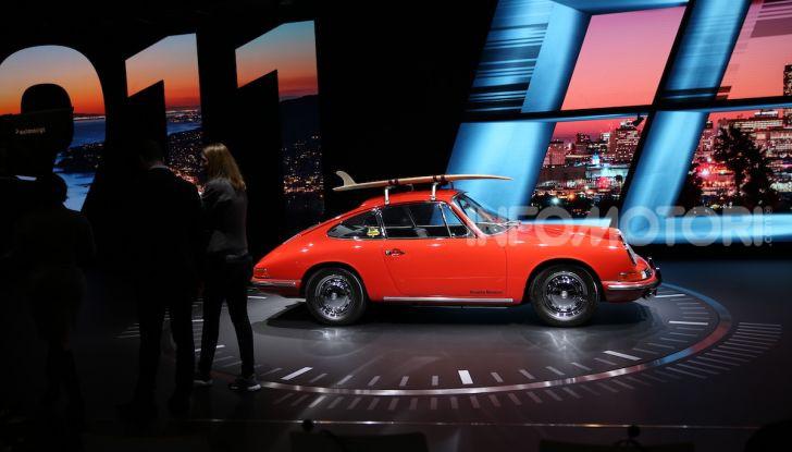Porsche: tutte le novità presentate al Salone di Los Angeles 2018 - Foto 1 di 79
