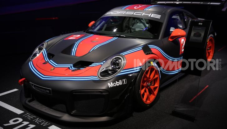 Porsche: tutte le novità presentate al Salone di Los Angeles 2018 - Foto 20 di 79