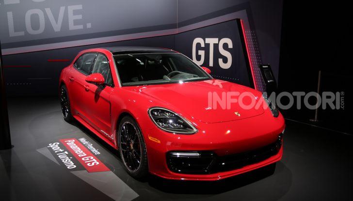 Porsche: tutte le novità presentate al Salone di Los Angeles 2018 - Foto 4 di 79