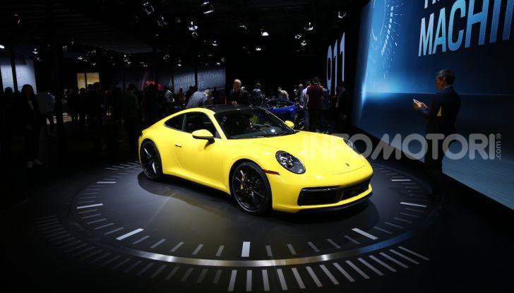 Porsche: tutte le novità presentate al Salone di Los Angeles 2018 - Foto 62 di 79
