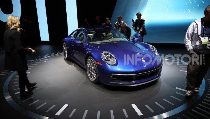 Porsche: tutte le novità presentate al Salone di Los Angeles 2018 - Foto 64 di 79